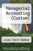 cover of Managerial Accounting (Custom)