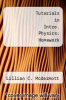 cover of Tutorials in Intro. Physics: Homework (3rd edition)
