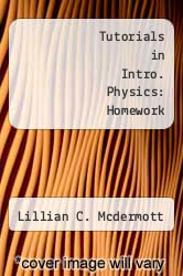 Cover of Tutorials in Intro. Physics: Homework 3RD 11 (ISBN 978-0558940409)