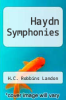 cover of Haydn Symphonies