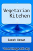 cover of Vegetarian Kitchen