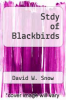 cover of Stdy of Blackbirds
