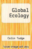 cover of Global Ecology
