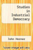 cover of Studies in Industrial Democracy