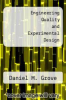 cover of Engineering Quality and Experimental Design (1st edition)