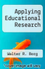 cover of Applying Educational Research (2nd edition)