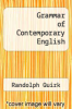 cover of Grammar of Contemporary English