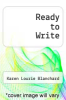 cover of Ready to Write (1st edition)