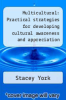 cover of Multicultural: Practical strategies for developing cultural awareness and appreciation (Teacher workshop)