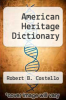 cover of American Heritage Dictionary (3rd edition)