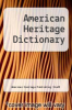 cover of American Heritage Dictionary (4th edition)
