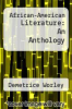 cover of African-American Literature: An Anthology