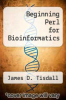 cover of Beginning Perl for Bioinformatics