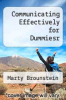 cover of Communicating Effectively for Dummiesr