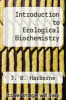 cover of Introduction to Ecological Biochemistry