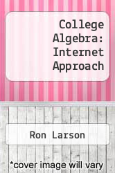 Cover of College Algebra: Internet Approach 1 (ISBN 978-0618019977)