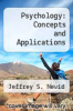 cover of Psychology: Concepts and Applications