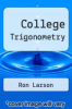 cover of College Trigonometry