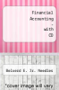cover of Financial Accounting - with CD (8th edition)