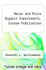 cover of Macro and Micro Organic Experiments, Custom Publication (4th edition)
