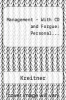 Management - With CD and Forgue: Personal... by Kreitner - ISBN 9780618465408