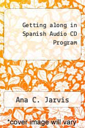 Cover of Getting along in Spanish Audio CD Program EDITIONDESC (ISBN 978-0618505937)