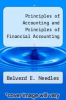 cover of Principles of Accounting and Principles of Financial Accounting (9th edition)