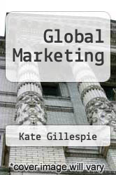 Cover of Global Marketing 2 (ISBN 978-0618731473)