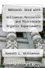 cover of Webcard: Used with ... Williamson-Macroscale and Microscale Organic Experiments (5th edition)