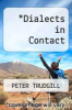cover of Dialects in Contact