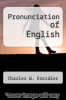 cover of Pronunciation of English