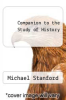 cover of Companion to the Study of History
