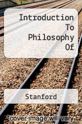 Cover of Introduction To Philosophy Of EDITIONDESC (ISBN 978-0631199397)
