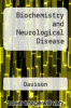 cover of Biochemistry and Neurological Disease