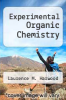 cover of Experimental Organic Chemistry