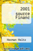 cover of 2001 source Financ