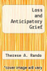 cover of Loss and Anticipatory Grief