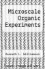 cover of Microscale Organic Experiments