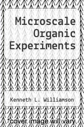 Cover of Microscale Organic Experiments  (ISBN 978-0669149234)