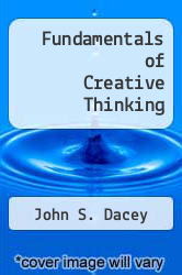 Cover of Fundamentals of Creative Thinking EDITIONDESC (ISBN 978-0669161403)
