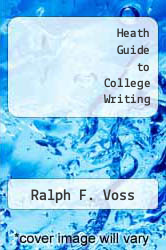 Cover of Heath Guide to College Writing EDITIONDESC (ISBN 978-0669167849)