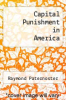 cover of Capital Punishment in America