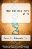 cover of CIOF EXP COLL PHYS 9E IG