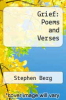 cover of Grief: Poems and Verses