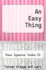 cover of An Easy Thing