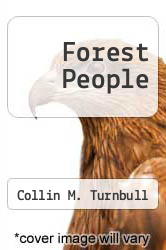 Forest People by Collin M. Turnbull - ISBN 9780671201531