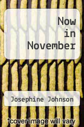 Now in November by Josephine Johnson - ISBN 9780671204891