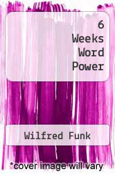 Cover of 6 Weeks Word Power EDITIONDESC (ISBN 978-0671448370)