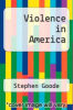 cover of Violence in America