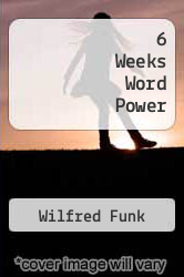 Cover of 6 Weeks Word Power EDITIONDESC (ISBN 978-0671477615)